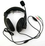 Headphone Headset with Microphone SKYPE TLEN GG