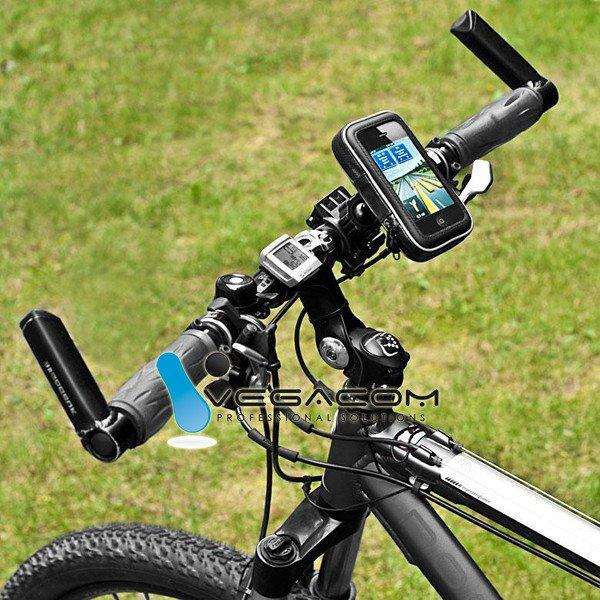 fahrradhalter handy halterung smartphone iphone 4 4s case. Black Bedroom Furniture Sets. Home Design Ideas