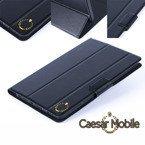Etui w kolorze czarnym pokrowiec z klapką firmy Caesar Mobile do PHILIPS PI3210