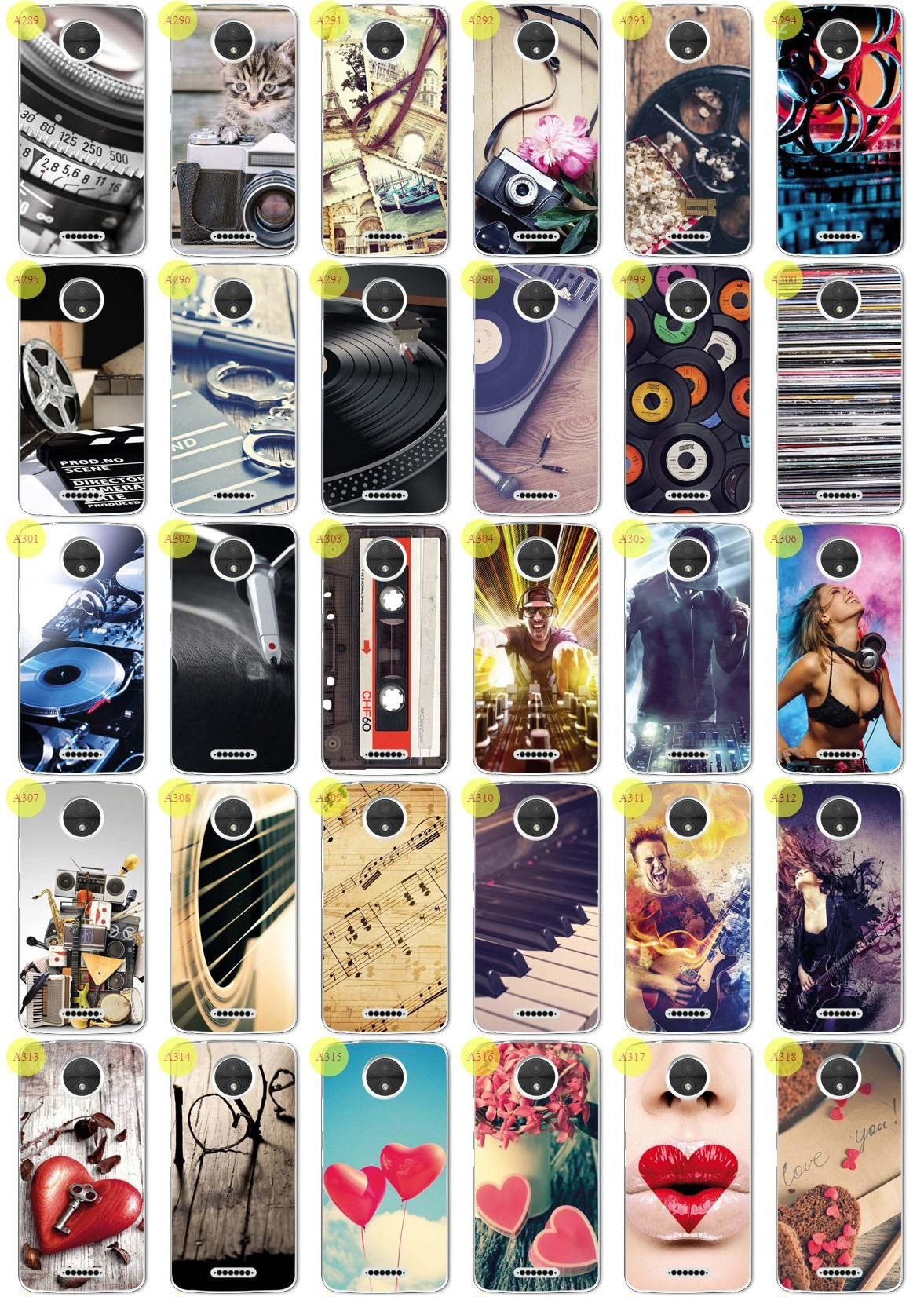 Back Case Print Cover 0.3mm Kreatui PhotoCase MOTOROLA MOTO C