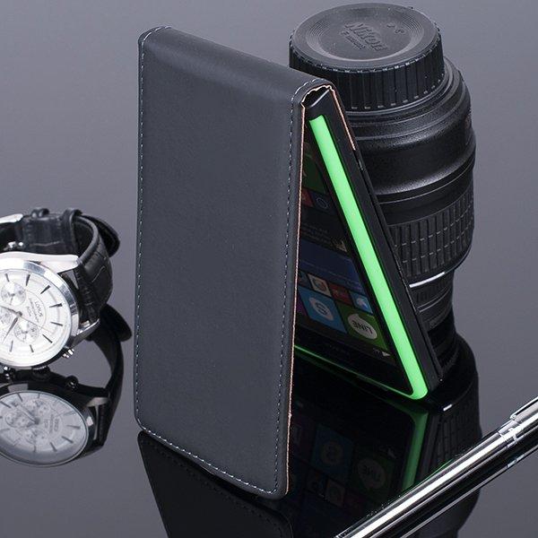 slim flip case cover magnet nokia lumia 730 735 rm