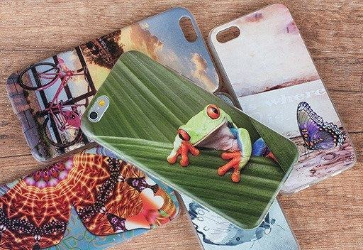 Back Case 0.3mm Kreatui COVER PhotoCase ZTE BLADE A602 + GLASS 9H