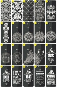 Back Case Cover Overprint Kreatui LaceCase WIKO HIGHWAY SINGS