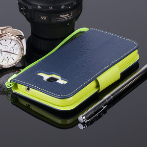 Brieftasche Fall decken Holster CASE TASCHE GALAXY CORE PRIME SM-G360