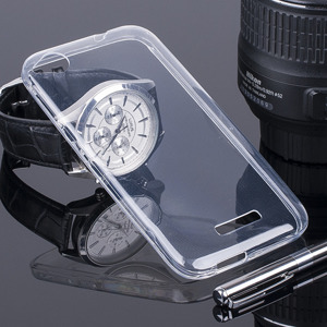 TASCHE Fall decken CASE COVER HTC DESIRE 320 TRANSPARENT 0.3mm