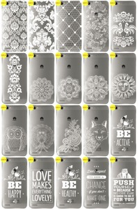 Back Case Cover Overprint Kreatui LaceCase HUAWEI GR3 + GLASS 9H