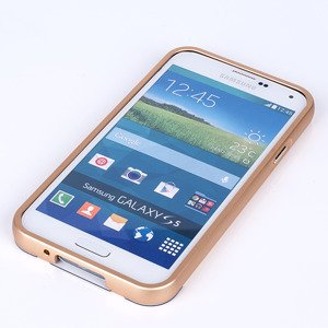 ALUMINIUM FRAME BUMPER CASE COVER for SAMSUNG GALAXY S5 SM-G900 GOLD