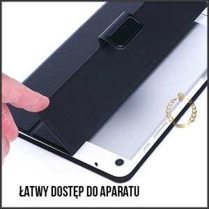 CAESAR MOBILE 2IN1 SLIM CASE COVER BOOK PENTAGRAM QUADRA P5355 9.7