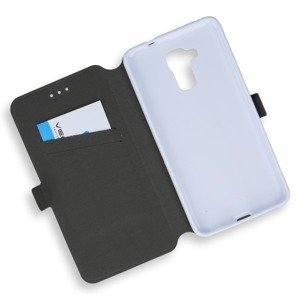 2in1 WALLET FLIP CASE COVER MAGNET pocketbook HUAWEI HONOR 5C WHITE