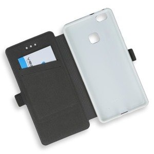 2in1 WALLET FLIP CASE COVER MAGNET pocketbook HUAWEI P9 LITE WHITE