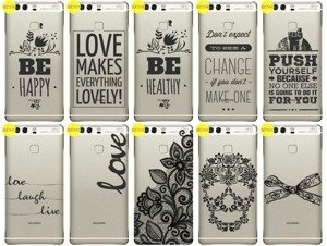 Back Case Cover Overprint Kreatui LaceCase HUAWEI P9 PLUS