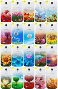 Case Aufdruck Tasche Fall Kreatui GRADIENT SAM GALAXY S4 I9500 + GLAS