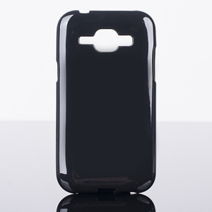 BACK CASE COVER GEL TPU JELLY  SAMSUNG GALAXY J1 SM-J100 BLACK