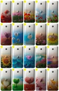 Case Cover Caso Copertura Overprint GRADIENT VODAFONE SMART PRIME 6