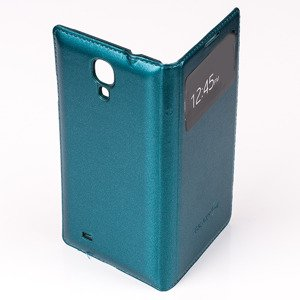 CASE COVER TPU WINDOW VIEW FOR SAMSUNG GALAXY S4 GT-I9500 GREEN