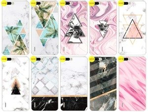 Case Cover Aufdruck Tasche Fall Kreatui MARMOR HONOR 6 PLUS + GLAS 9H