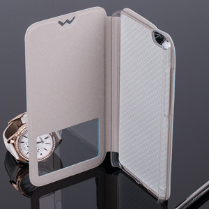 CASE COVER TPU TPU WINDOW VIEW FOR HUAWEI HONOR 4X BLUE