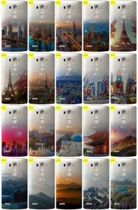 Case Cover Overprint Kreatui GRADIENT LG G4 S / G4S / G4 MINI + GLASS