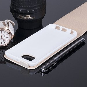 COVER Fall Holster Magnet CASE TASCHE SAMSUNG GALAXY S6 EDGE G925 Weiß