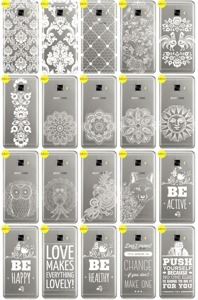 Back Case Cover Kreatui LaceCase SAMSUNG GALAXY C5 SM-C500 + GLASS 9H