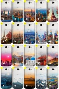 Case Cover Overprint Kreatui GRADIENT LG K3