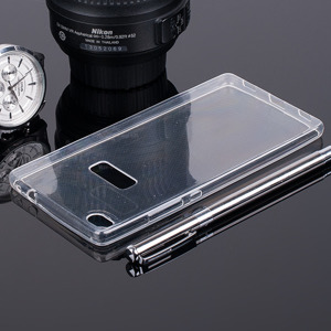 TASCHE Fall decken CASE COVER HUAWEI ASCEND P8 TRANSPARENT 0.3mm