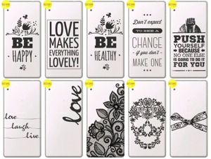 Back Case Cover Overprint Kreatui LaceCase SONY XPERIA XA ULTRA +GLASS