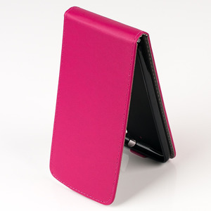 SLIM FLEX Fall Holster decken COVER CASE TASCHE HTC DESIRE 626 ROSA