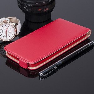 COVER Fall Holster Magnet CASE TASCHE SAMSUNG GALAXY S6 EDGE G925 ROT