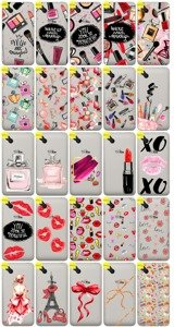Back Case Cover Overprint Kreatui FASHION WIKO SUNNY + GLASS 9H