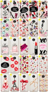 Case Cover Overprint Kreatui STICKERS FASHION MOTOROLA MOTO C PLUS