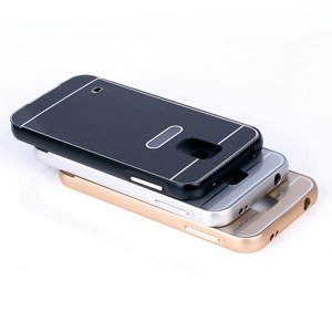 ALUMINIUM FRAME BUMPER CASE COVER for SAMSUNG GALAXY S5 SM-G900 BLACK