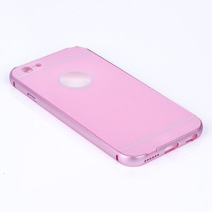 ALUMINIUM FRAME PROTECTION BUMPER CASE COVER IPHONE 6 6S 4.7 PINK
