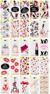 Back Case Cover Overprint Kreatui FASHION ZENFONE MAX ZC550KL + GLASS
