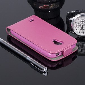 SLIM FLIP CASE COVER magnet SAMSUNG GALAXY S4 MINI GT-i9190 PINK