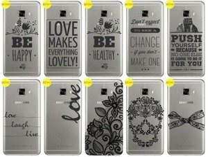 Back Case Cover Overprint Kreatui LaceCase SAMSUNG GALAXY C7 SM-C700