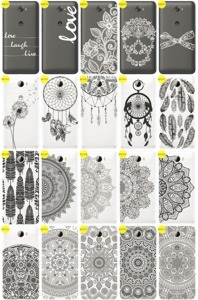 Back Case Cover Overprint Kreatui LaceCase HUAWEI Y5 II 2 + GLASS 9H