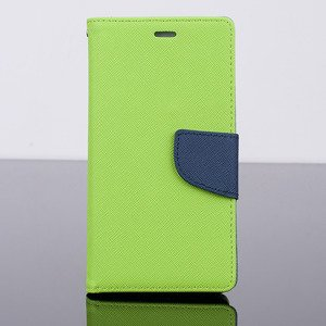 WALLET FLIP CASE COVER pocketbook magnet HUAWEI ASCEND P8 LITE GREEN