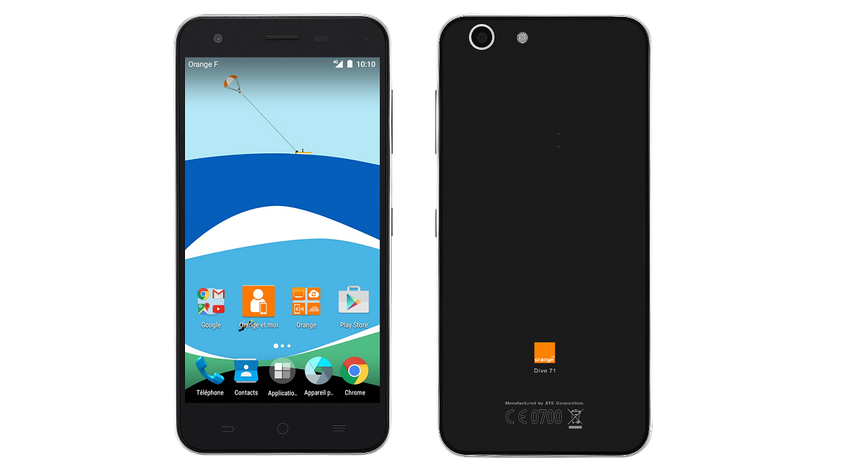Orange Dive 71 - what came out of collaboration ZTE and Orange
