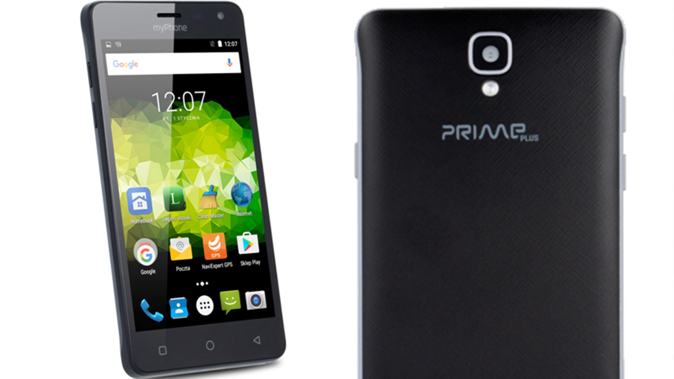 What hides phone Polish manufacturer - myPhone Prime Plus?
