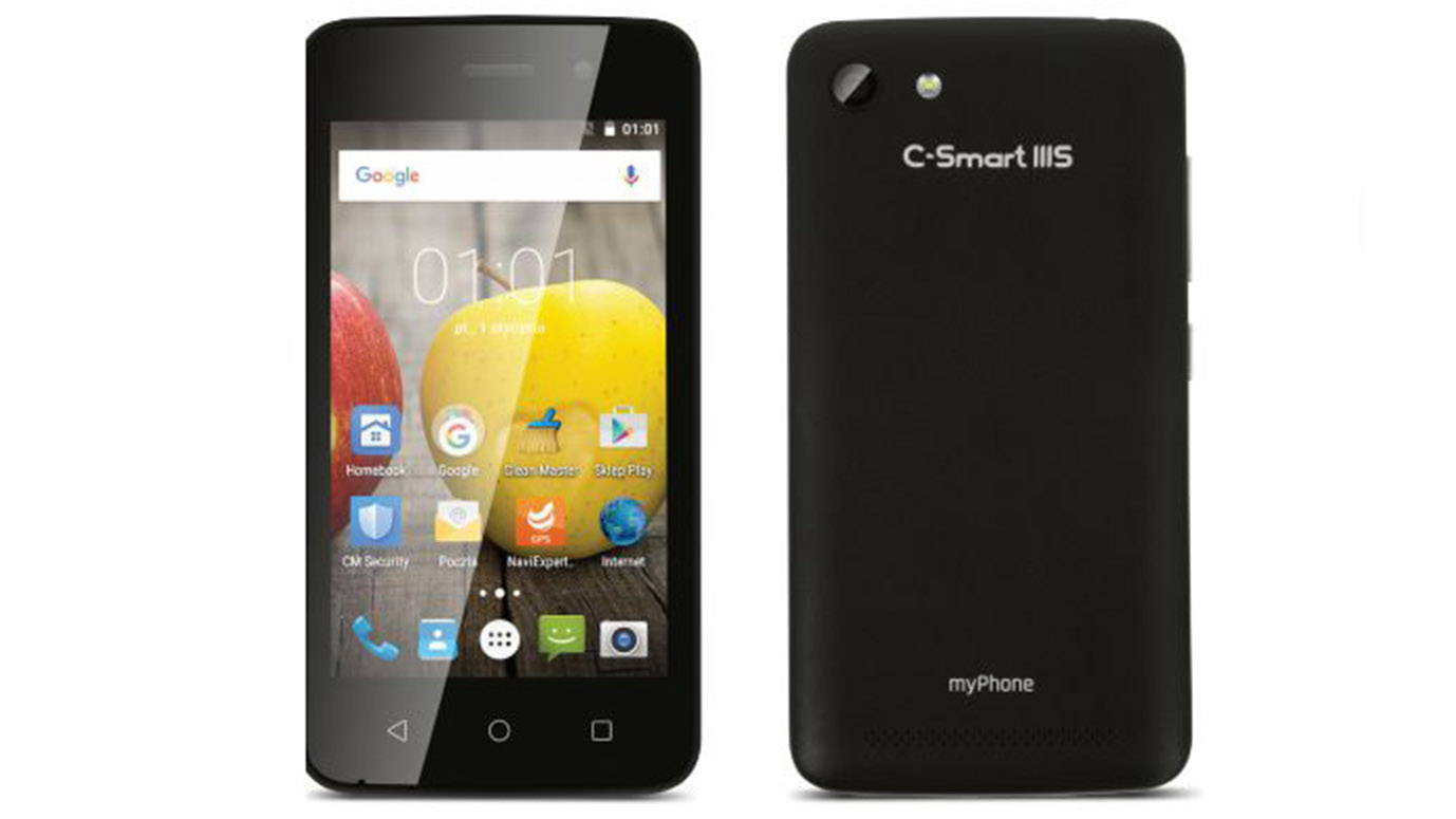 myPhone C-Smart III S -what is phone for 199PLN?