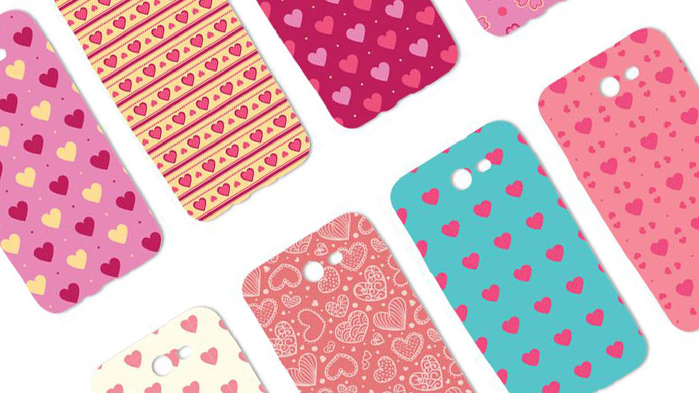 Valentine collection case for smartphone