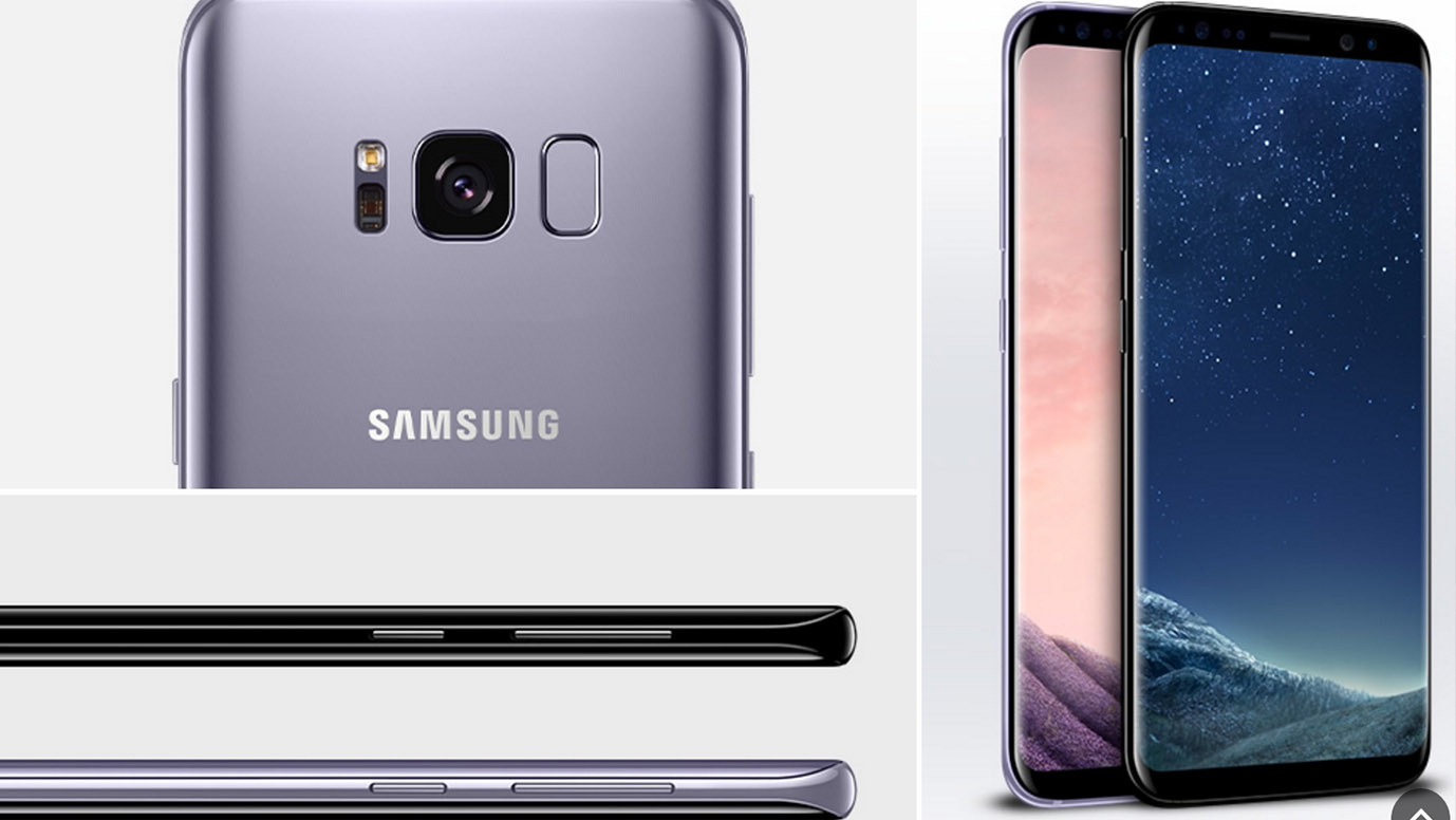 Samsung Galaxy S8 and S8 Plus - design above all