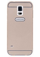 ALUMINIUM FRAME BUMPER CASE COVER SAMSUNG GALAXY S5 G900 GOLD + Glass
