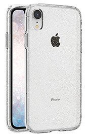 Back case Spigen series Liquid Crystal Glitter Crystal cover for IPHONE XR + GLASS 9H
