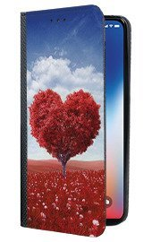 Case Cover Overprint Kreatui Magnetic Print LG X POWER 2