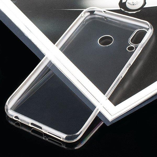 new styles 5f92b e80d8 0.3mm CASE COVER ASUS ZENFONE 5Z ZS620KL TRANSPARENT + GLASS 9H