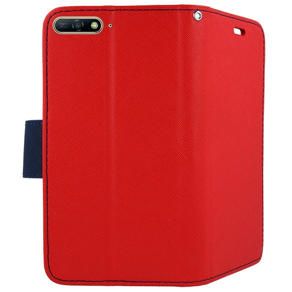 sale retailer 8bf56 4df3f 2in1 WALLET FLIP CASE COVER MAGNET pocketbook HUAWEI HONOR 7A RED