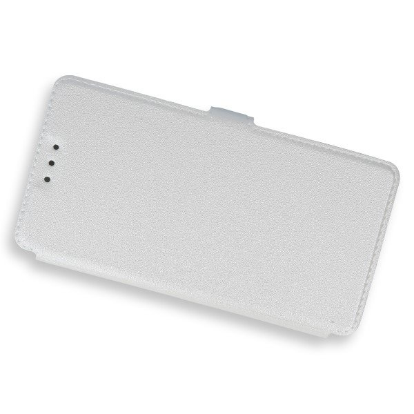 2in1 WALLET FLIP CASE COVER MAGNET pocketbook HUAWEI P8 LITE WHITE