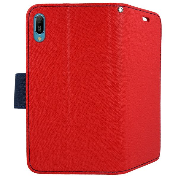 brand new f36ea 7951a 2in1 WALLET FLIP CASE COVER MAGNET pocketbook HUAWEI Y6 2019 / Y6 PRO 2019  RED